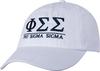 Greek Letters Hat  - phi sig image 1