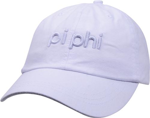3D Embroidery Hat - pi phi