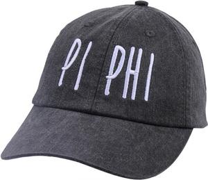 Jagged Font Hat - pi phi