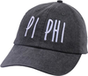 Jagged Font Hat - pi phi image 1