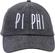 Jagged Font Hat - pi phi image 2