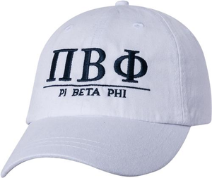 Greek Letters Hat  - pi phi