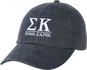 Greek Letters Hat  - sigma kappa