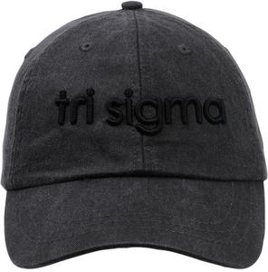 3D Embroidery Hat - tri sigma