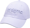 3D Embroidery Hat - tri sigma image 1