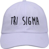 Jagged Font Hat - tri sigma image 2