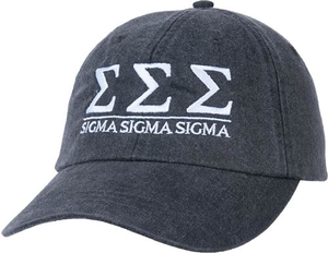 Greek Letters Hat  - tri sigma