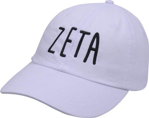 Jagged Font Hat - zeta