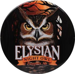 "23.5"" Tin Tacker - Night Owl Pumpkin Ale"