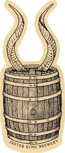 """5"""" Horny Barrel Sticker (Set of 2)"""