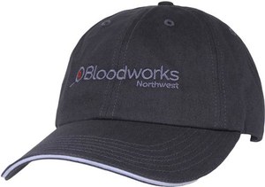 Bloodworks Embroidered Twill Baseball Cap