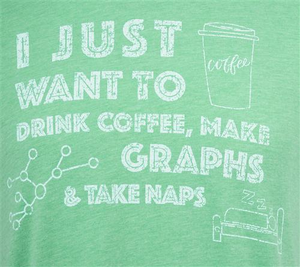 Naps and Graphs Tee