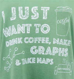 Women's Naps and Graphs Tee