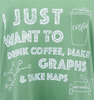 Women's Naps and Graphs Tee image 2