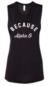 Because Alpha O Tank