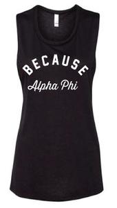 Because Alpha Phi Tank