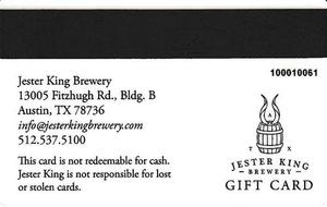 Pub Gift Card