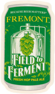 Field to Ferment Can Sticker