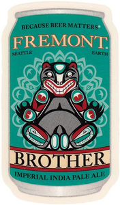 Brother IPA Can Sticker