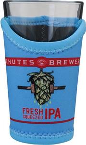 Beer Logo Pint Glass Koozie: Fresh Squeezed