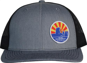 Arizona Wildernes Circle Sunburst Patch Hat