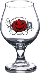 Pour the Ground Glass 12 oz. Goblet