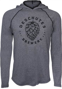 Deschutes Brewery Hop Pull Over Hooded Sweatshirt
