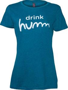 "Women's Humm Kombucha ""Drink Humm"" T-Shirt"