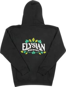 Elysian Hops Full Zip Hoodie