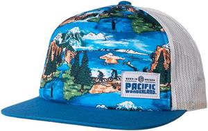 Beer Logo Hawaiian Hat: Pacific Wonderland