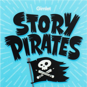 "2"" x 2"" Story Pirates Sticker"