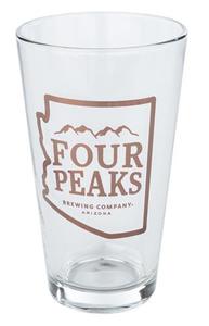 Four Peaks Pint Glass