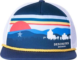 Deschutes Brewery Roanoke Sky Line Foam Trucker Hat
