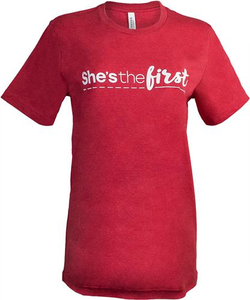 She's The First Unisex T-Shirt