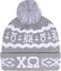 Knit Beanie - Chi Omega image 1