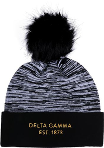 Knit Beanie - Delta Gamma