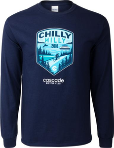 Chilly Hilly 2018 Long Sleeve T-Shirt