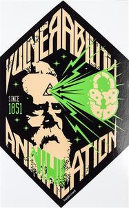 """3.12"""" x 5"""" Vulnerability Annihilation Sticker"""