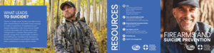 Firearms and Suicide Prevention Brochure  (Pack of 25)