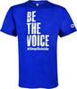 Unisex Royal Blue Be the Voice Crewneck image 1