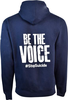 Unisex Navy Be the Voice Pullover image 2