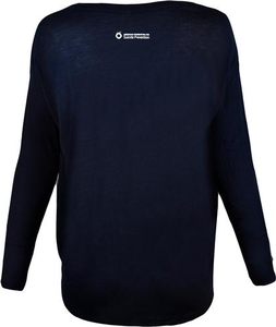 Women's Midnight Blue Be the Voice Long Sleeve Shirt