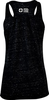 Women's Black Marble Be the Voice Tank Top image 2