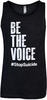 Unisex Charcoal Be the Voice Tank Top image 1