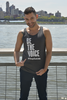 Unisex Charcoal Be the Voice Tank Top image 3