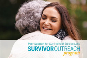 Survivor Outreach Program Postcard