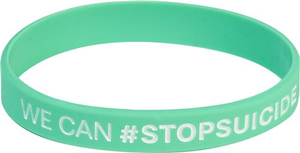 #StopSuicide Wristband (Pack of 10)