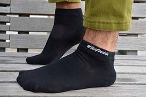 Men's #StopSuicide Socks