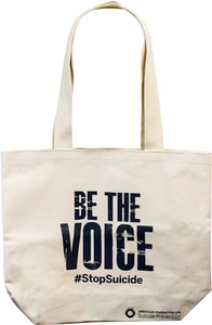 Be the Voice Canvas Tote