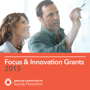 Focus & Innovation Grants 2015